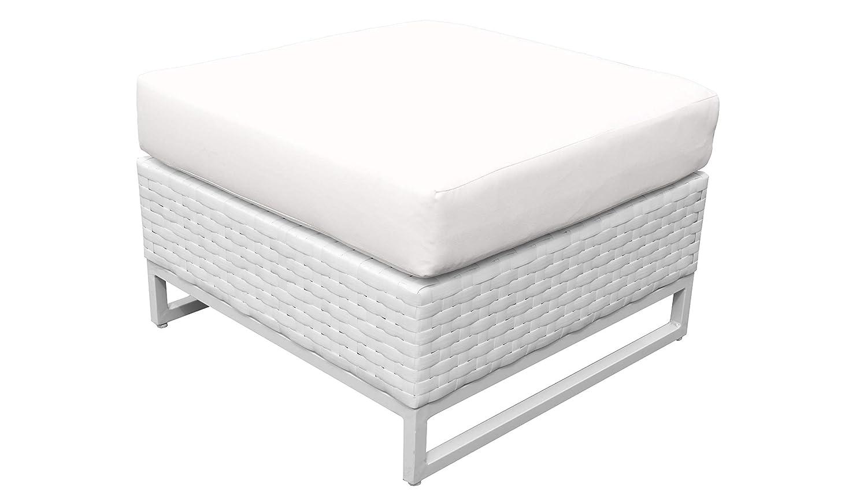 TK Classics TKC047b-O-TANGERINE Miami Seating Patio Furniture Tangerine
