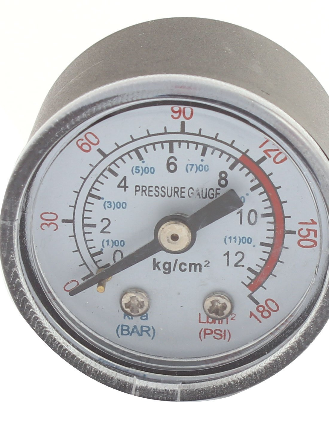 0-180psi 0-12 kg/cm2 1/8BSP Thread Dia Dial Air Pressure Gauge 2 Pcs DealMux US-SA-AJD-91323