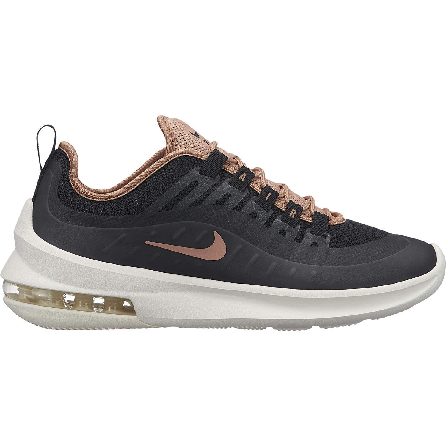 Nike Women's Air Max Axis, Black/Rose Gold, 6 M US