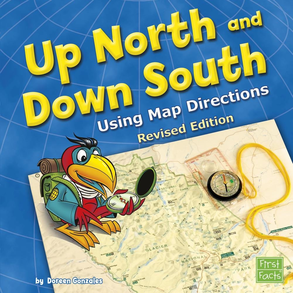 Download Up North and Down South: Using Map Directions (Map Mania) pdf epub