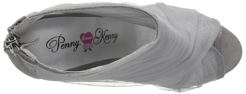 Penny Loves Kenny Women's Skylar Pump B07CV6RVVZ 9 M US Grey Mesh