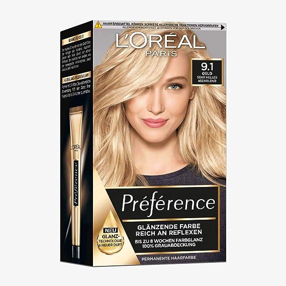LOral Paris Preference Viking 9.1 Light Ash Blonde by LOreal Paris