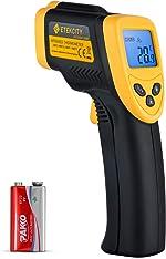 Etekcity Lasergrip 1080 Non-Contact Digital Laser Infrared Thermometer Temperature Gun -58℉~1022℉