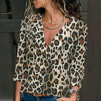 Blusas para Mujer Elegantes, Beladla Mujers Camisas De Hombro ...