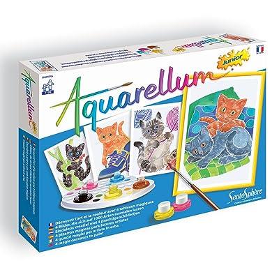 Sento Sphere Aquarellum: Magic Canvas Junior Kittens: Toys & Games
