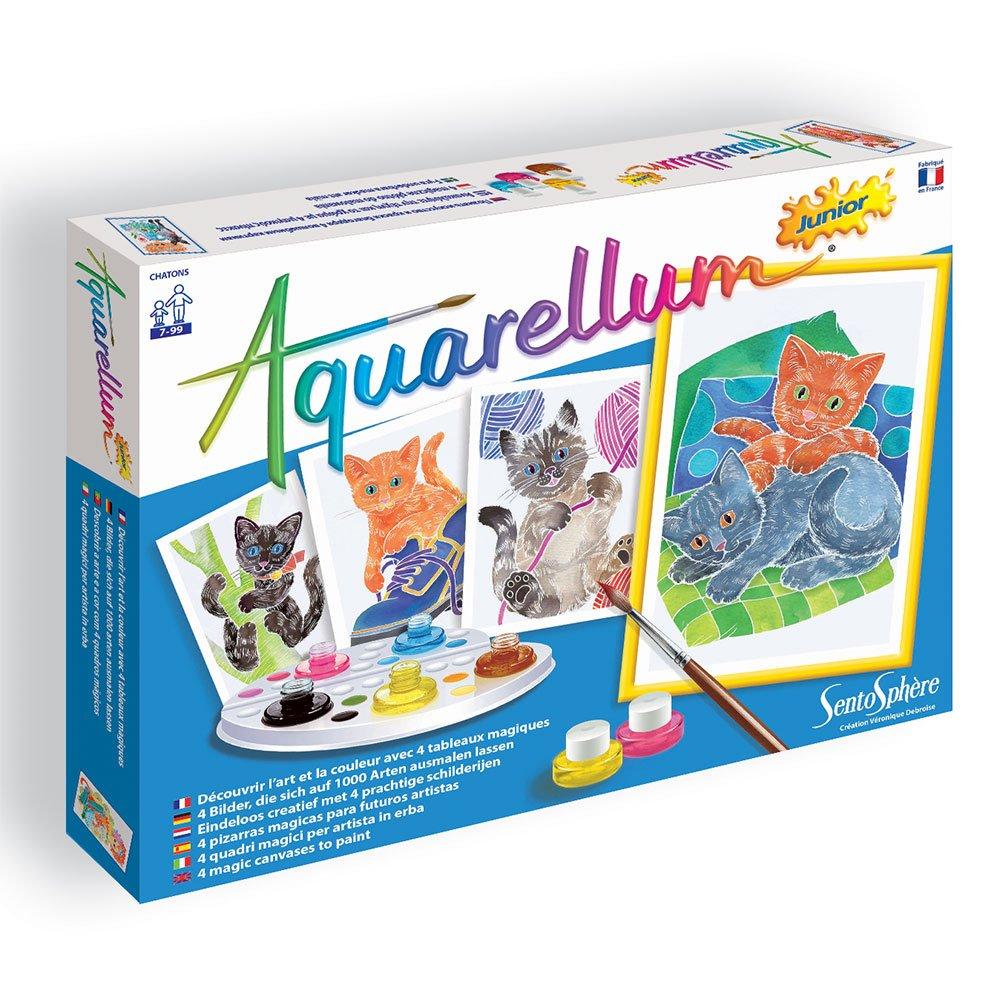 Magic Canvas Junior Kittens Sento Sphere Aquarellum