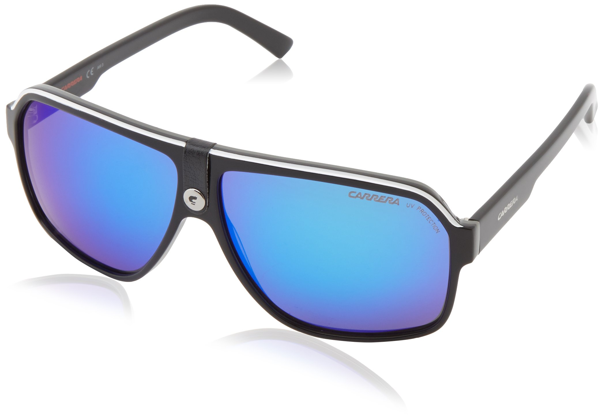 Carrera 33/S Aviator Sunglasses BLACK CRY GRAY by Carrera
