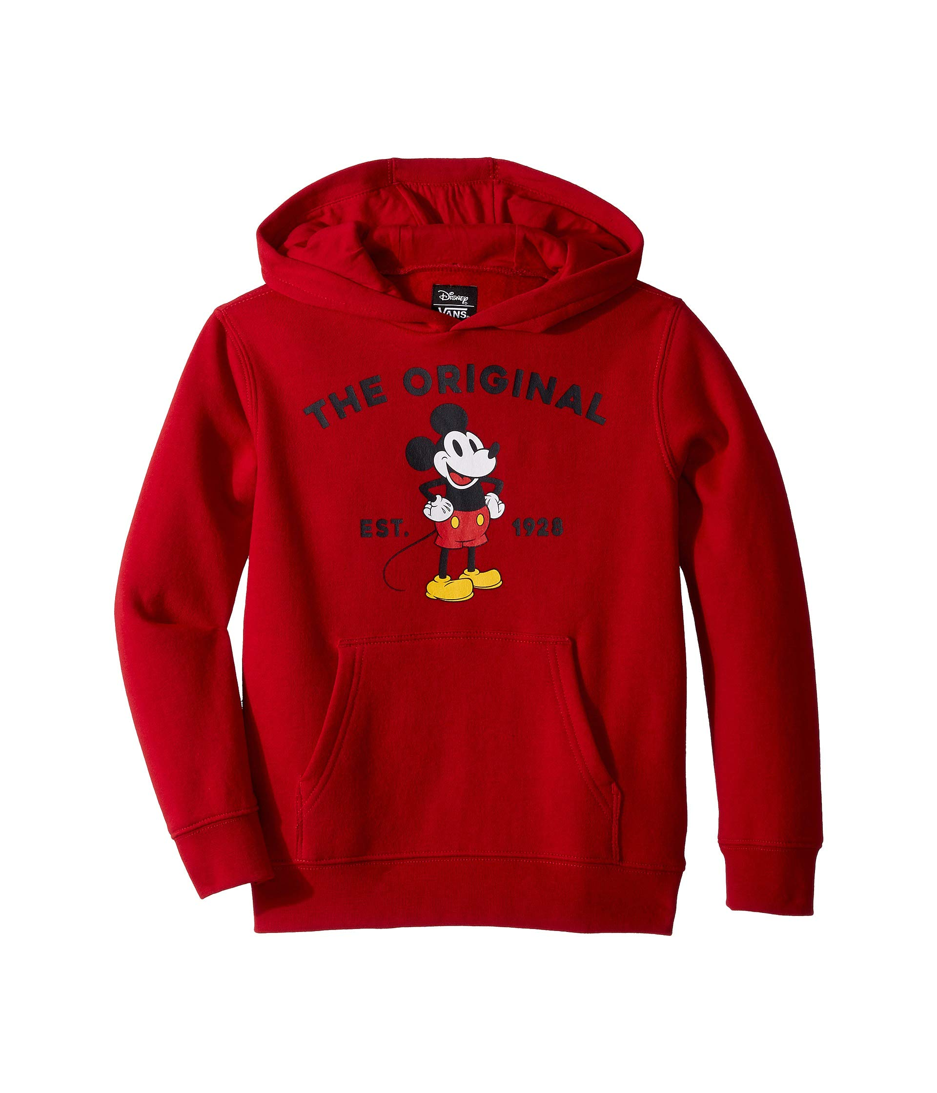 Vans K Mickeys 90 Classic Pullover Chili Pepper Size 4