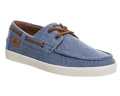 edcf42524414 Lacoste Keellson Blue Chambray - 11 UK  Amazon.co.uk  Shoes   Bags