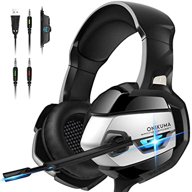 ONIKUMA Gaming Headset With Microphone For PS