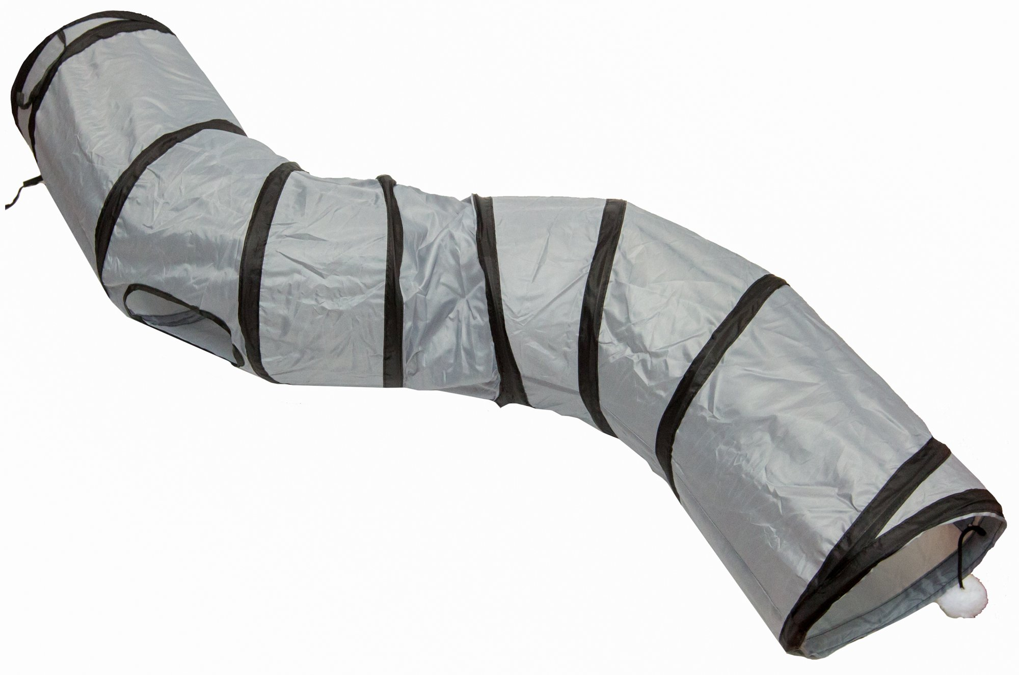 PetLike S Way Cat Tunnel By Collapsible Cat Tube For Kitty Exercising, Entertainment And Fun Play Pet Friendly, Comfortable Hideaway | Durable And Joyful Den For Rabbits, Kittens And Small Dogs
