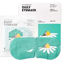 Steambase Daily Steam Eye Mask - Hydrating Self Heated Eye Masks Provide Moisture, Relieve Dry Eyes, Reduce Puffy Eyes and Dark Circles - Chamomile Crown, 5 Count