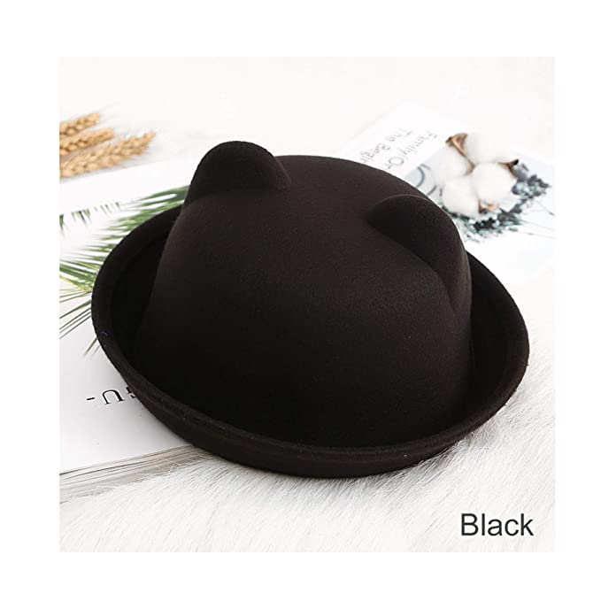 7f92fd2d387 Image Unavailable. Image not available for. Color  Baby Summer Cap Bucket  Hats for Girls Rabbit Ears Cap for Children Sun Hat Caps Boy