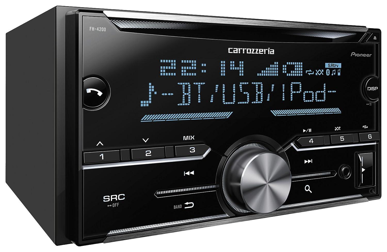 pioneer 4200. amazon.com: pioneer carrozzeria car audio 2d main unit fh-4200 bluetooth usb fh4200 tuner(japan domestic genuine products): electronics 4200