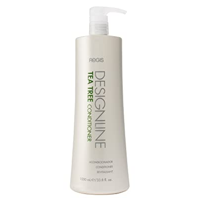 Regis DESIGNLINE Tea Tree Conditioner, 33.8oz - Leaves hair shiny, soft, and manageable. Nourishing vitamins and minerals help promote healthy hair and scalp.