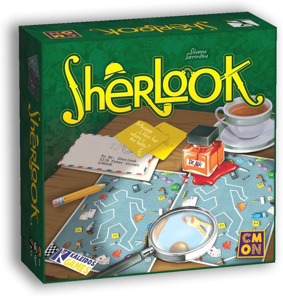 Sherlook Juego de Mesa: Amazon.es: Juguetes y juegos