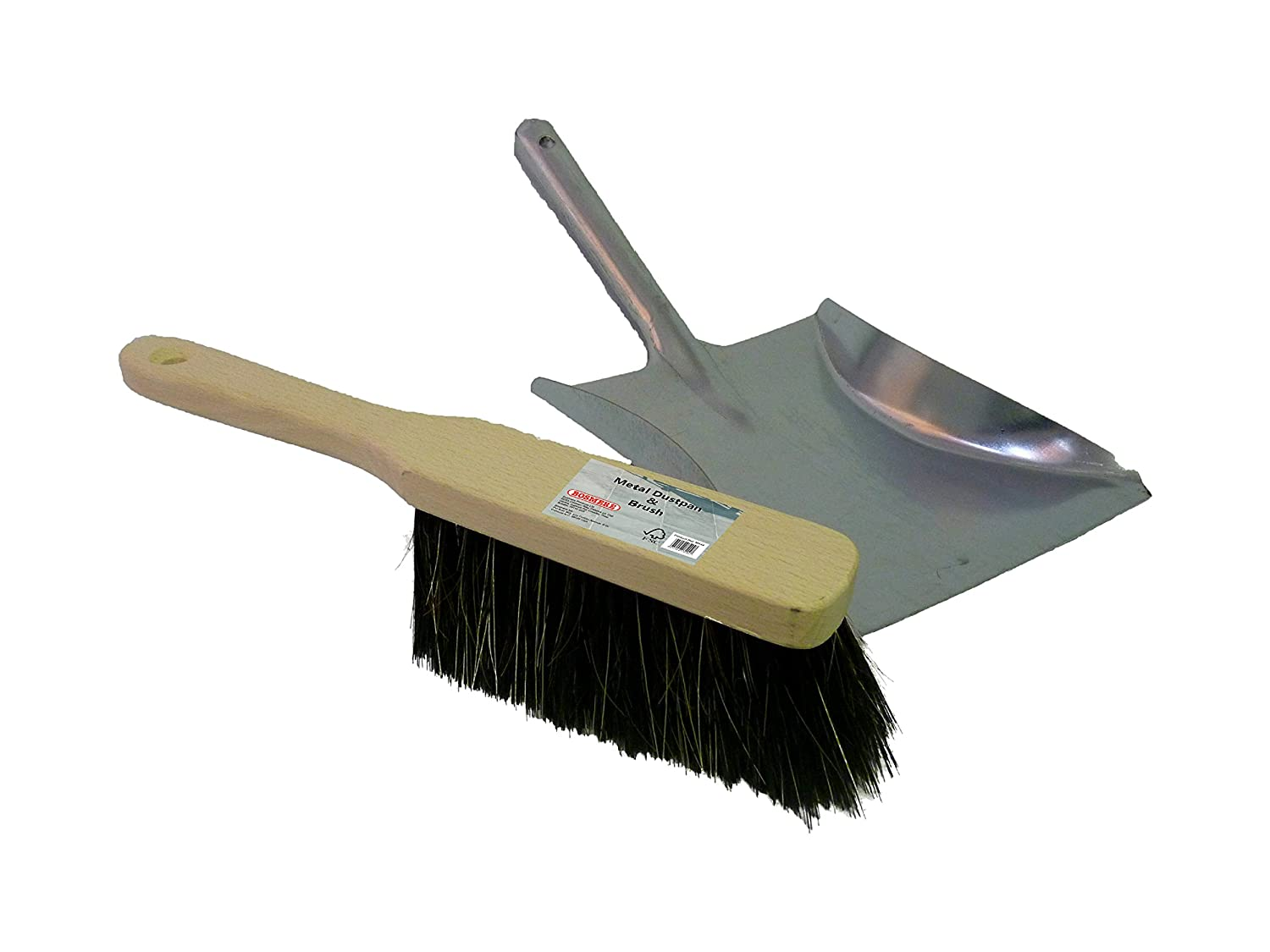BOSMERE PRODUCTS M444 Metal Dustpan and Brush - Multi-Colour BOSMERE PRODUCTS LIMITED