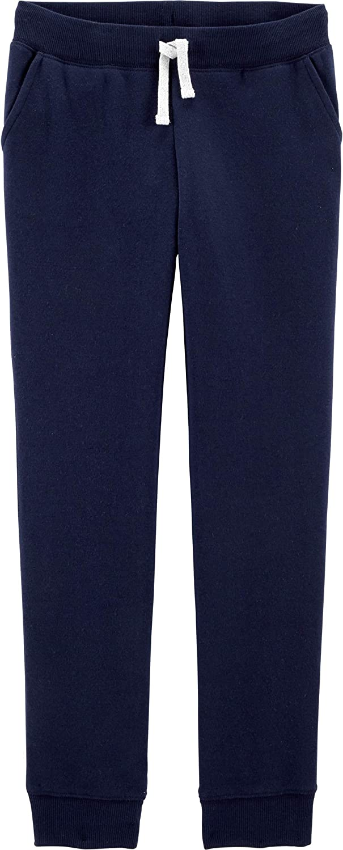 OshKosh B'Gosh Girls' Logo Fleece Pants: Clothing