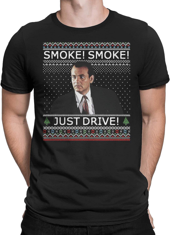 Marrola Smoke Smoke Just Drivee Ugly Christmas T-Shirt