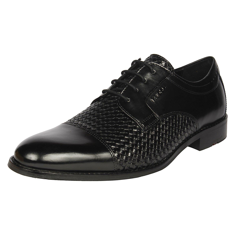 Black Leather Formal Shoes-9 UK