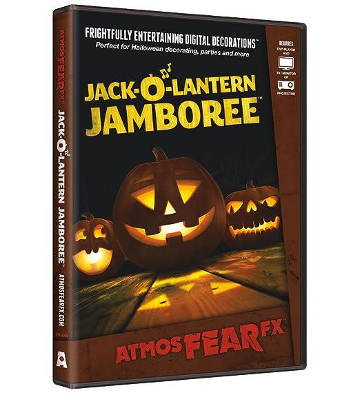Halloween Jamin.Atmosfx Jack O Lantern Jamboree Digital Decorations Dvd For Halloween Holiday Projection Decorating