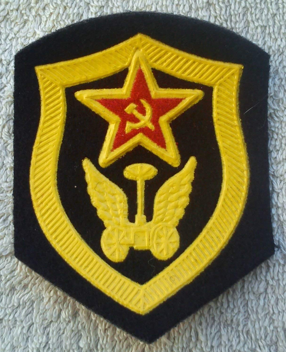 Car Transportation troops Patch USSR Soviet Union Russian Armed Forces Military Uniform Cold War Era