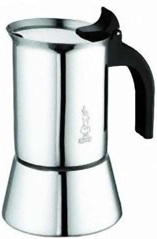 Bialetti Venus Elegance Cafetera Moka, capacidad de 10 tazas, para ...