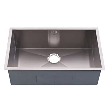 Ordinaire Stillori Kitchen Sink 30u0027u0027x18u0027u0027x10u0027u0027 Undermount Single Bowl Zero