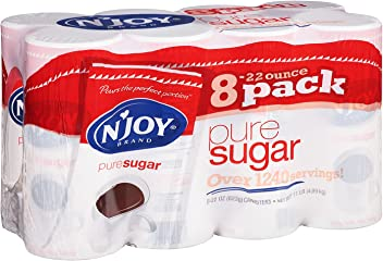 NJOY Pure Cane Sugar - 8/22 oz. Canisters by Sams Club