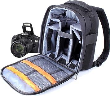 DURAGADGET Mochila De Nylon para Cámara Réflex Nikon D5100 / D5000 ...