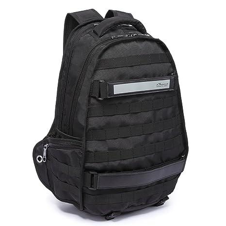 Mochila de ordenador portátil de los hombres, bolsa de viaje de moda con gran capacidad