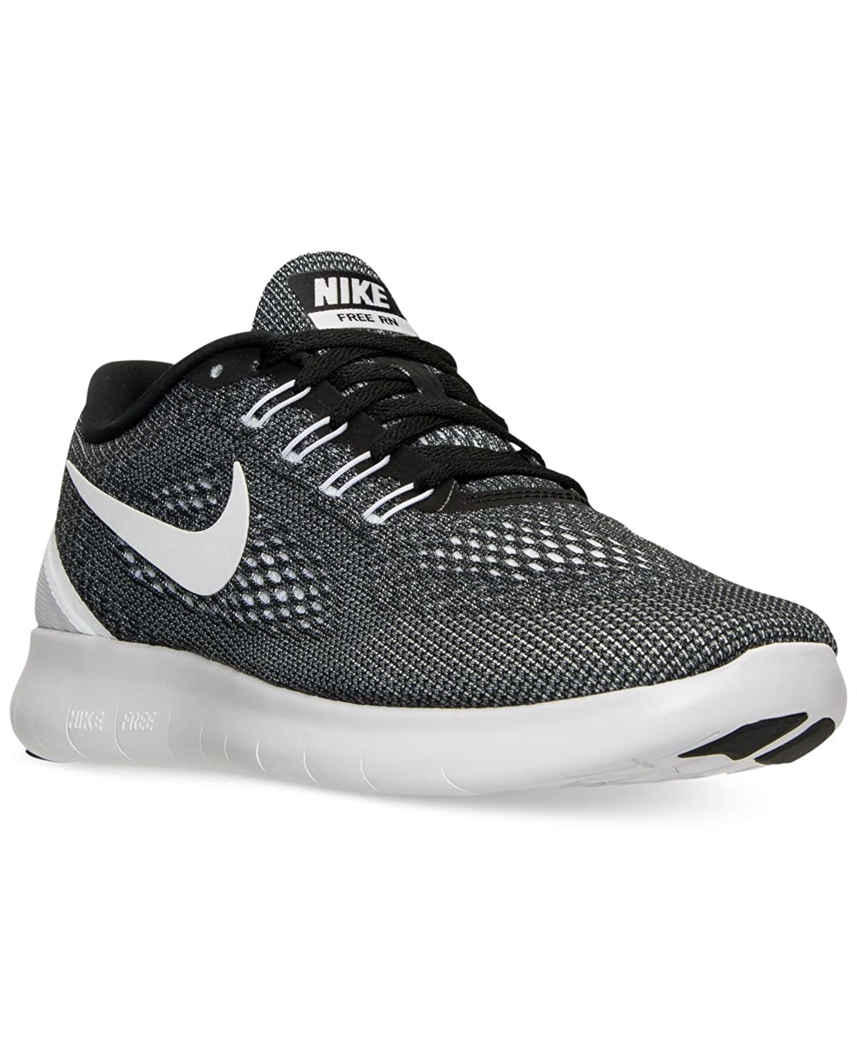 newest 665af 3d202 Amazon.com   Nike Mens Free Run Running Sneakers from Finish Line Black    Road Running