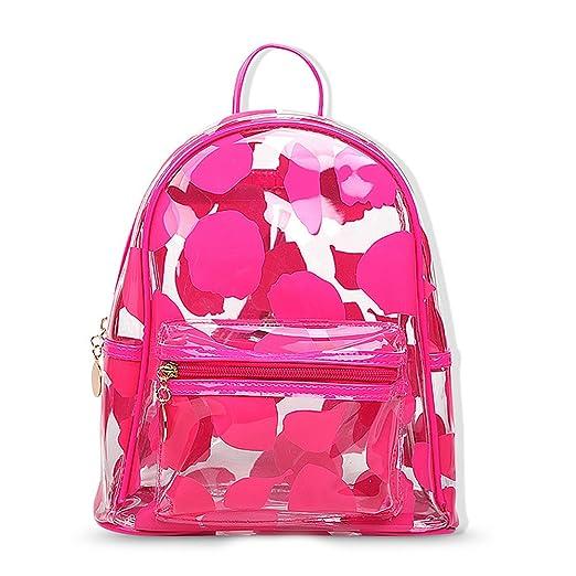 Teeya PVC Backpack School Backpack Outdoor Backpack Cute Knapsack Satchel  9086960b791f4