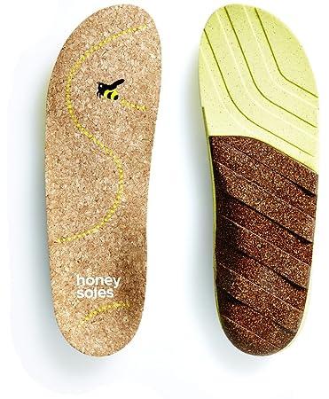 f804b79bdd5 Amazon.com  Honey Soles Natural Cork Shoe Insoles  Health   Personal ...