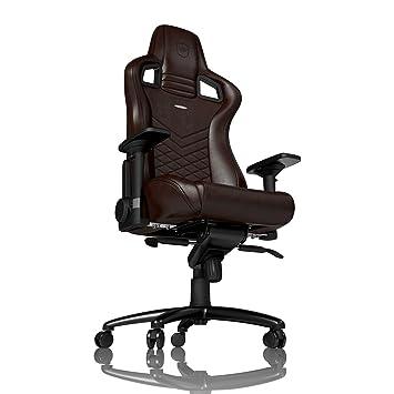 Gaming Echtleder Noblechairs Braunschwarz Epic Stuhl 3j5RL4A