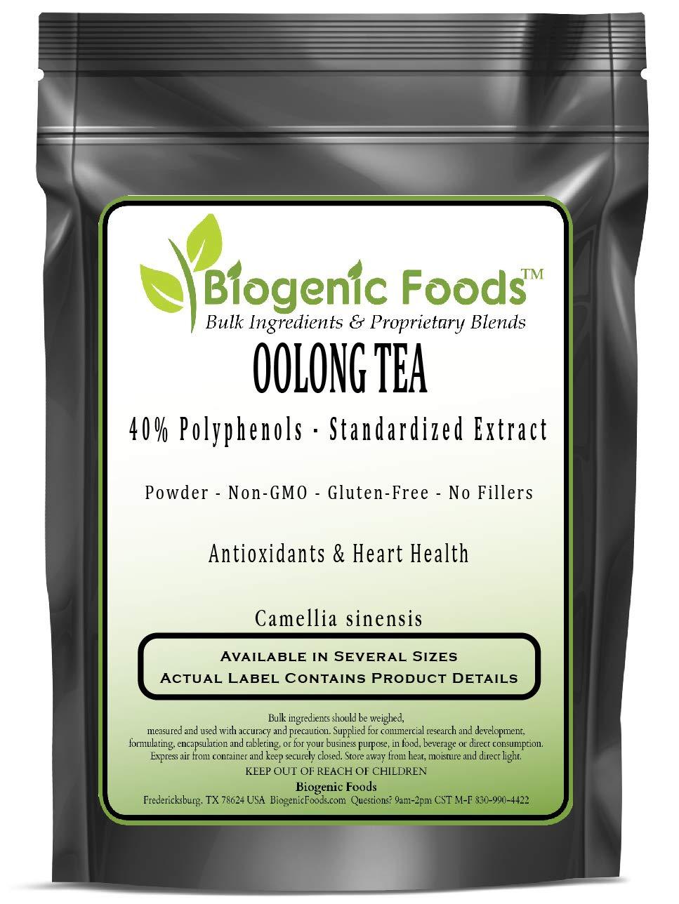 Oolong Tea - 40% Polyphenols - Standardized Powder Extract (Camellia sinensis), 5 kg