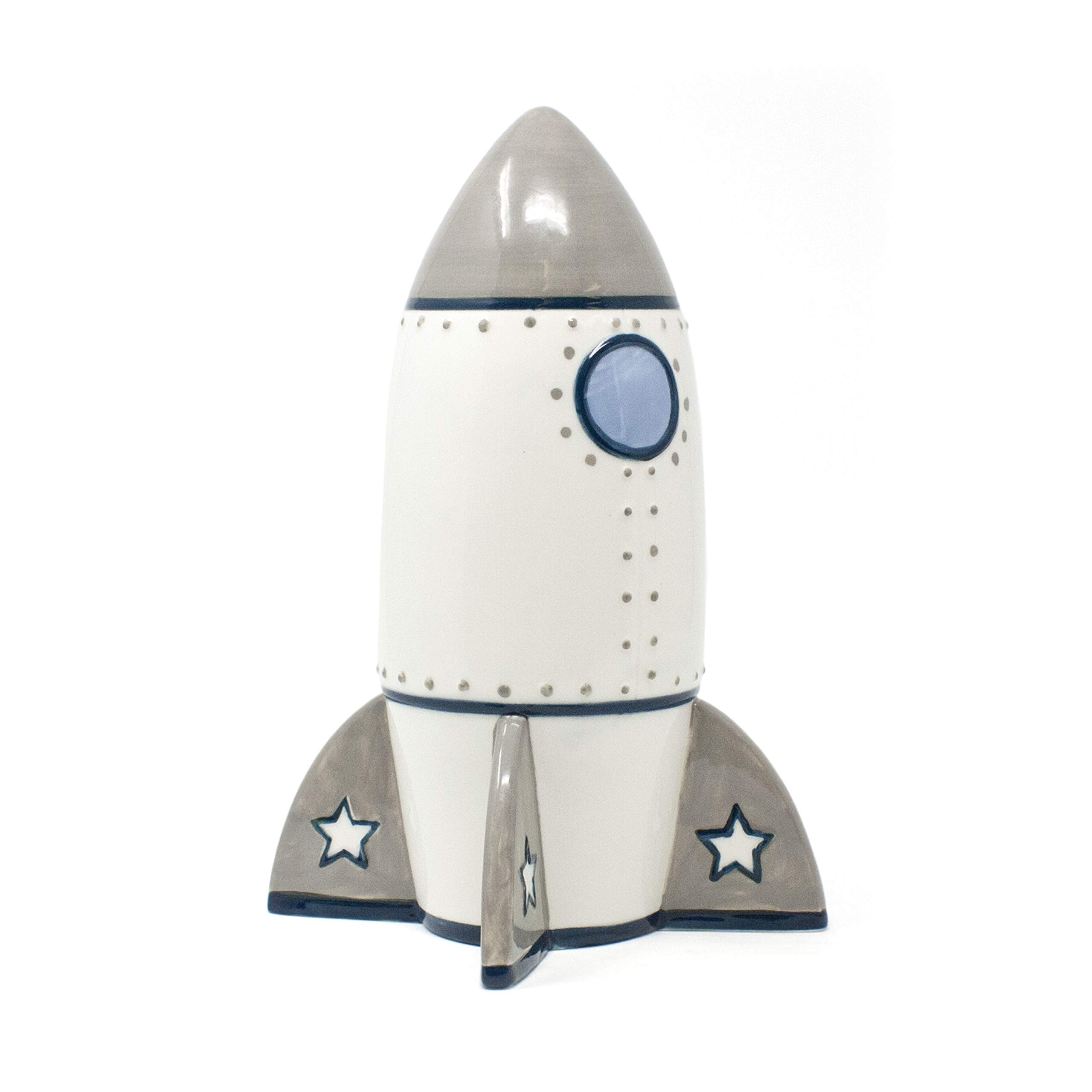 Child to Cherish Roger Rocket Piggy Bank for Boys by Child to Cherish