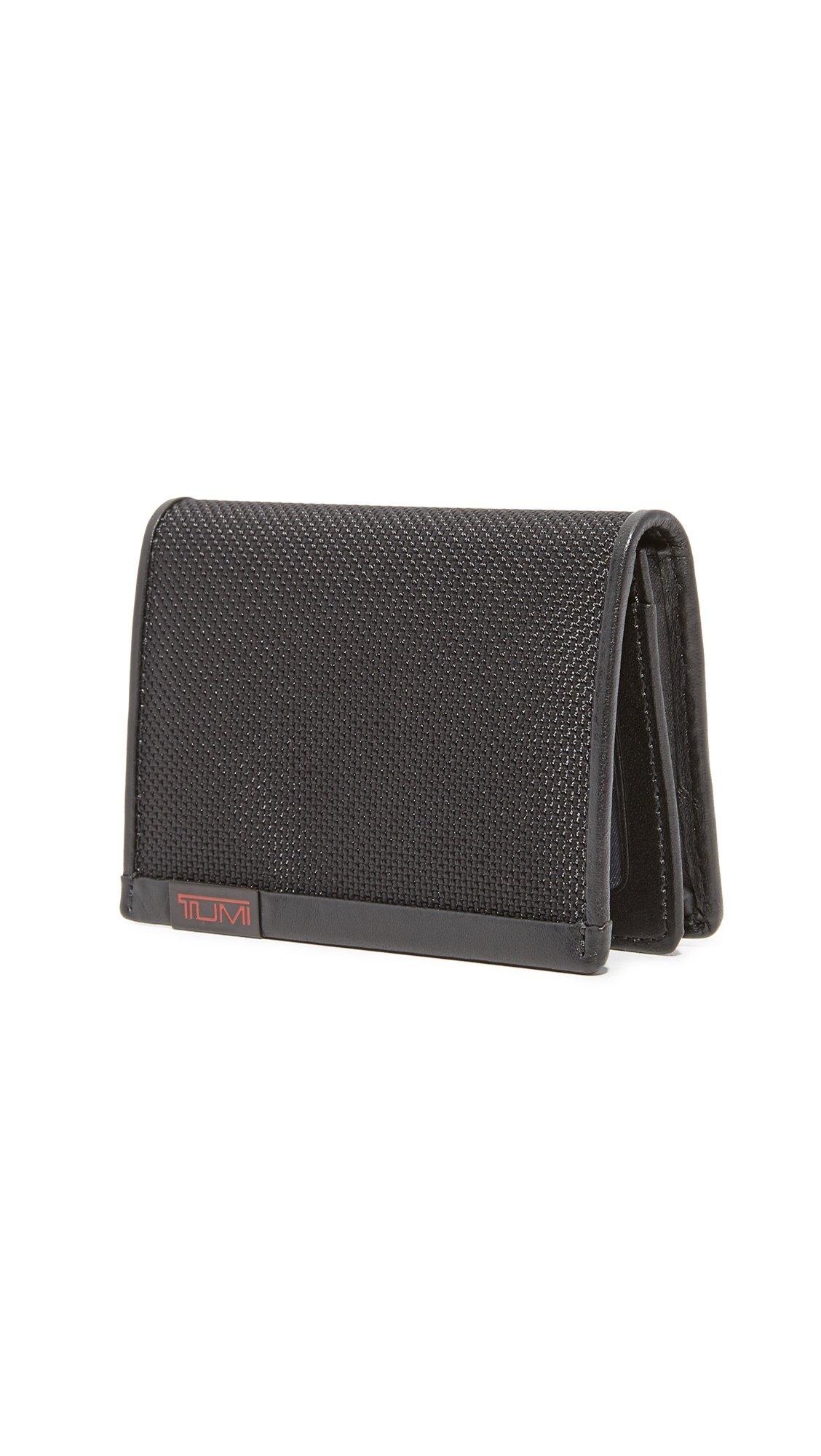 Tumi Alpha Gusseted Card Case with ID,Black,one size by Tumi (Image #2)