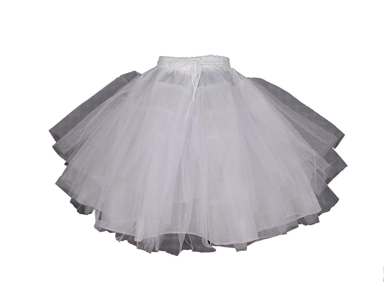 Cinda Clothing Baby Girls' Flower Bridesmaid 4 Layer Underskirt Petticoat