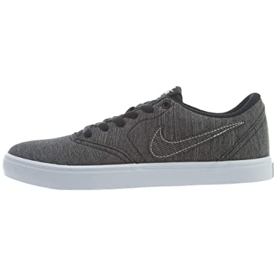 8acb47d4f19a6 Nike Men s SB Check Solarsoft Canvas Premium Skateboarding Shoes (9.5 D US)  Black