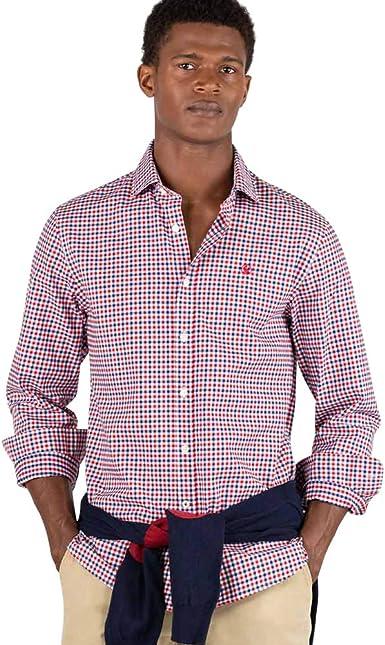 El Ganso Urban Scotland 1 Camisa casual, Rojo (Rojo 0041), X ...