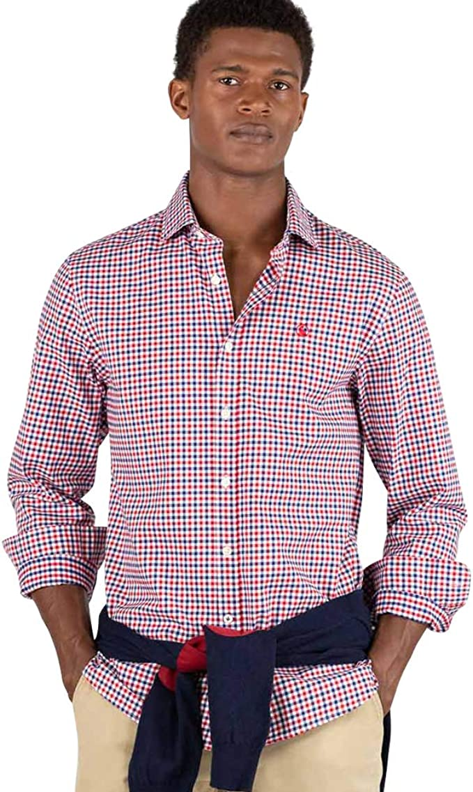 El Ganso URBAN SCOTLAND 1 Camisa casual, Rojo (Rojo 0041), X-Large para Hombre: Amazon.es: Ropa y accesorios