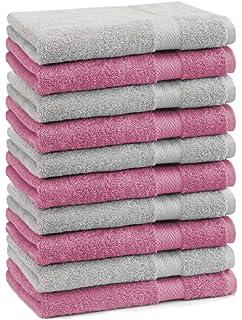 BETZ Paquete de 10 Piezas de Toallas para Invitados Juego de Toalla de Lavabo 100% algodón tamaño 30x50 cm Toalla…