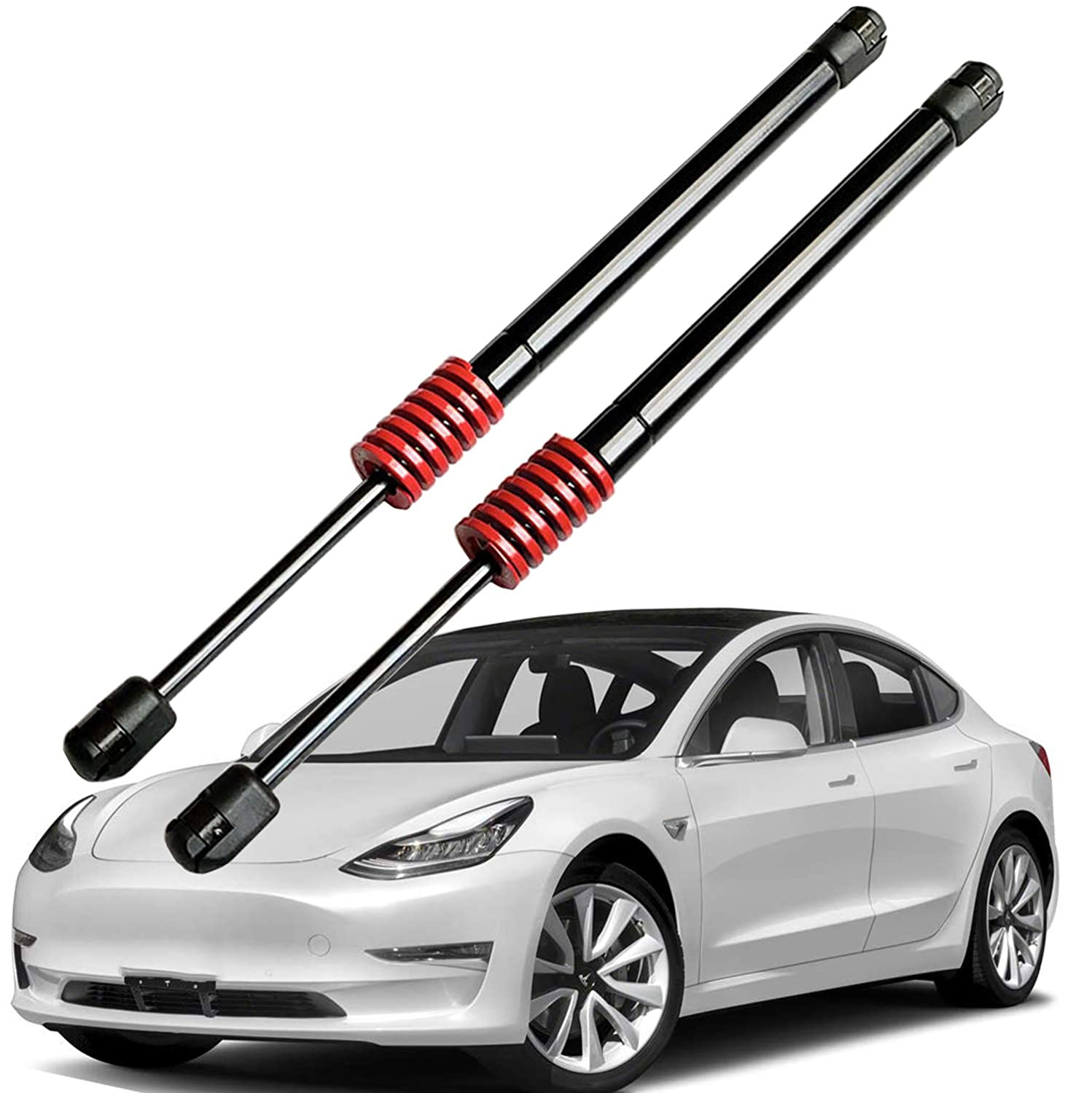 Omotor Rear Hatch Liftgate Lift Supports Struts Shocks Gas spring for Tesla Model 3,Pack of 2