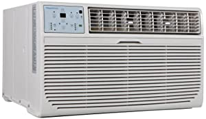 Keystone KSTAT10-2C 10000 BTU 230V Through-The-Wall Air Conditioner with Follow Me LCD Remote Control