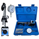 Professional 0-10mm Dial Indicator Gauge with Magnetic Base & Point Precision Inspection Set