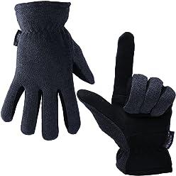 414764f3178e0 OZERO Winter Gloves, -20°F(-29℃) Cold Proof Thermal