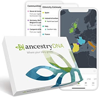 AncestryDNA: Genetic Testing Ethnicity Kit
