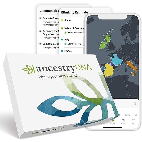 Ancestrydna Genetic Testing Ethnicity Amazon Co Uk Health