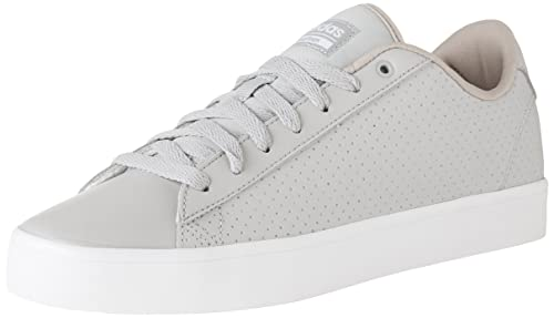 best service bffe7 a5237 adidas Women s Cloudfoam Advantage QT Clean Sneakers, Grey Two Grey  Two Trace Khaki